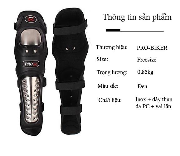 bót gối tay chân pro-biker