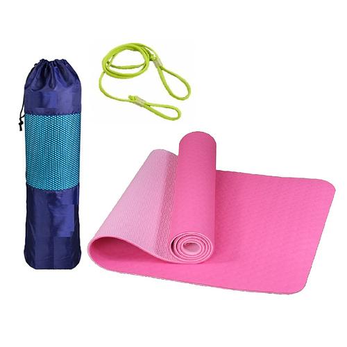 Thảm Tập YoGa, Gym miDoctor + Bao Thảm Tập Yoga + Dây Thảm Tập Yoga