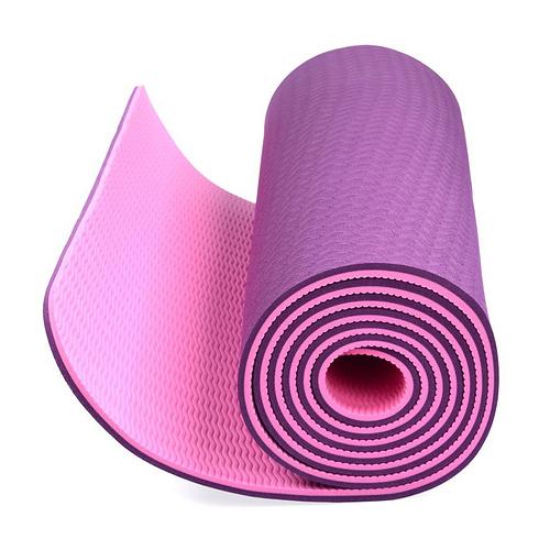 Thảm Tập Yoga 2 Lớp - Tặng Kèm Túi Đựng Thảm