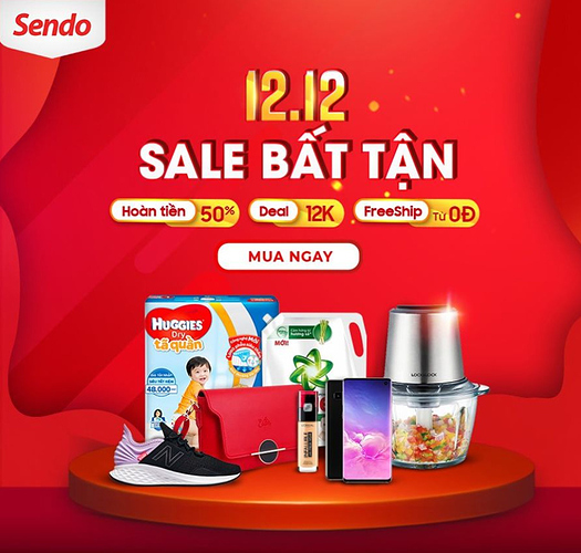 Sendo - top sản phẩm bán chạy 12.12.PNG