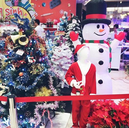 một góc giáng sinh tại Aeon Mall Tân Phú Celadon