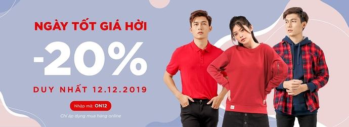 Couple TX khuyến mãi - Ngày tốt giá hời - ưu đãi lên đến 20%
