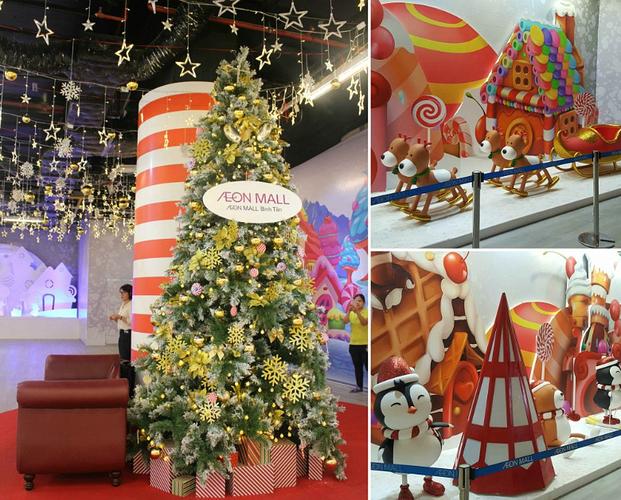 giáng sinh tại Aeon Mall Bình Tân