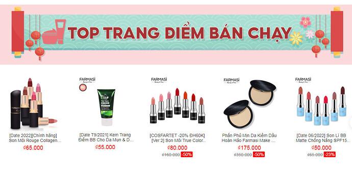 Shop mỹ phẩm uy tín Shopee HCM