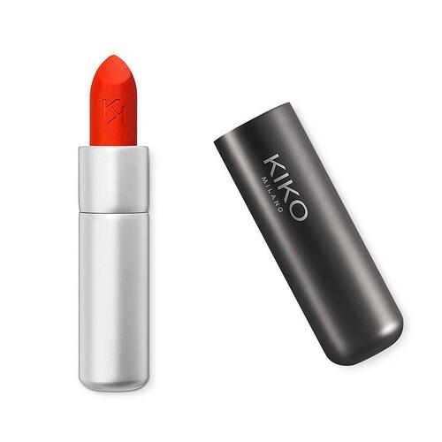 Kiko Powder Power Lipstick Imperial Red - Đỏ cam tươi (Màu 09)