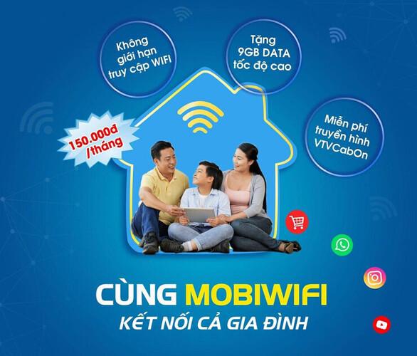 Cùng Mobiwifi kết nối cả gia đình