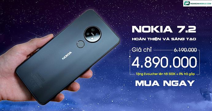 Nokia 7.2 Sale