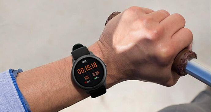 Đồng hồ Haylou Solar