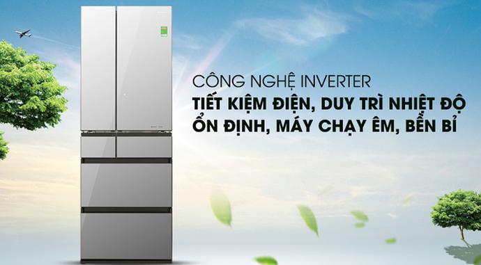 Công nghệ tiết kiệm điện của tủ lạnh Panasonic