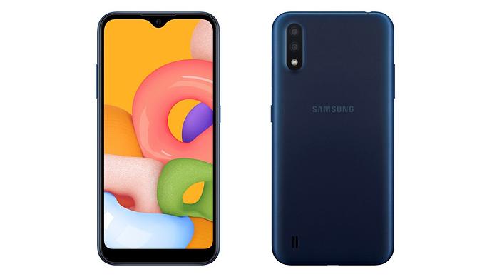 Điện thoại Samsung Galaxy A01