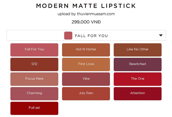 Ofélia Modern Matte Lipstick 2020