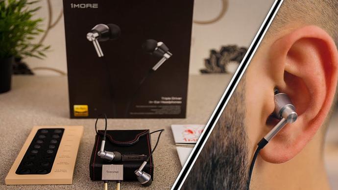 Tai nghe nhét trong tai có thêm 3 trình điều khiển