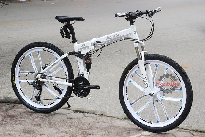Xe đạp gấp gọn Audi