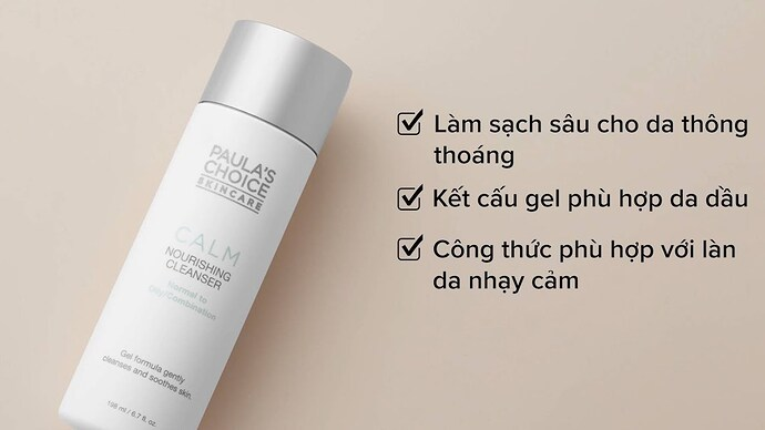 Paula's Choice Calm Redness Relief Cleanser Oily Skin 9150