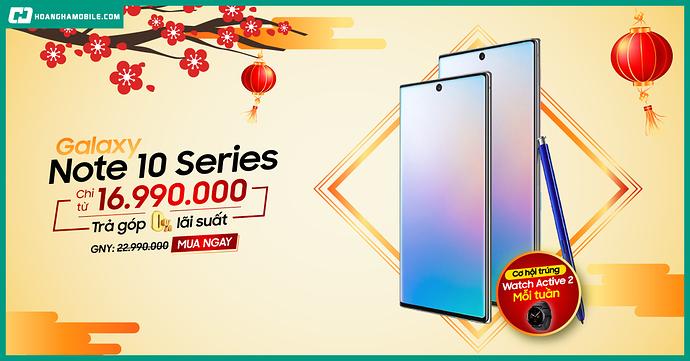 Galaxy Note 10 Series Sale