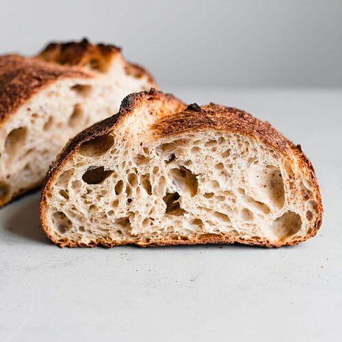 Bánh mì men chua tự nhiên