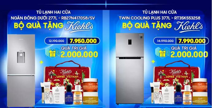 Tủ lạnh Samsung Lazada 12.12