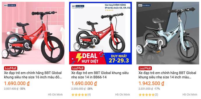 Shop xe đạp BBT Global Official