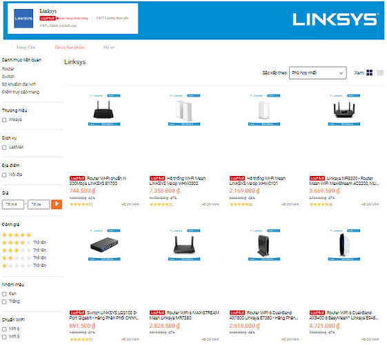 LINKSYS Flagship Store
