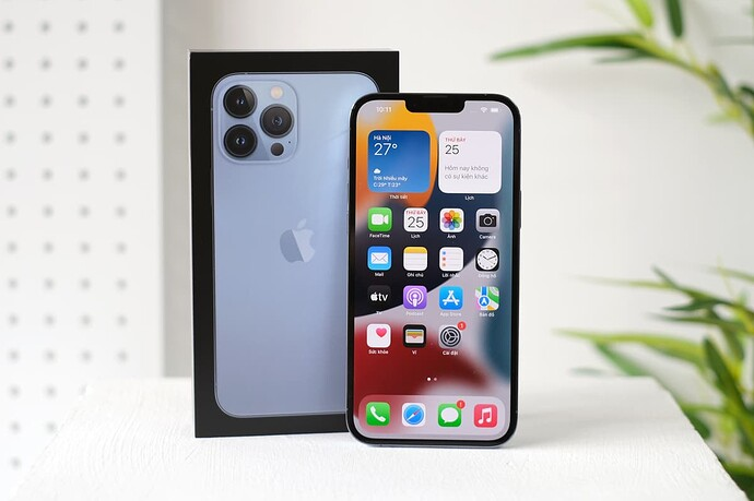 Thiết kế iPhone 13 Pro