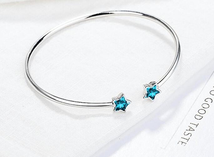 Vòng tay thời trang nữ Blue Star