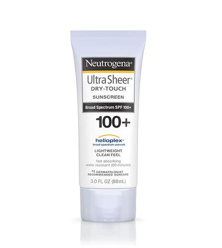 Neutrogena Ultra Sheer Dry Touch Sunscreen SPF 100+