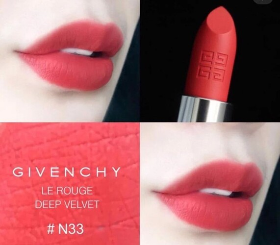 Son Givenchy 33