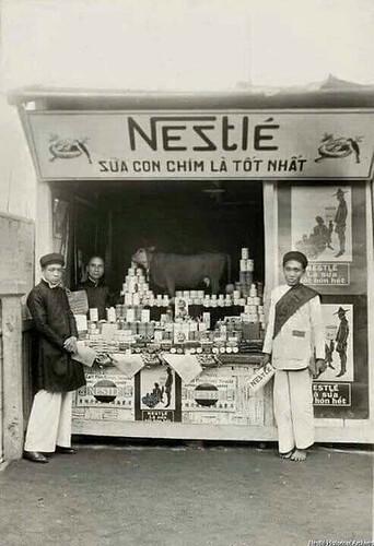 Nestle Sữa con chim là tốt nhất