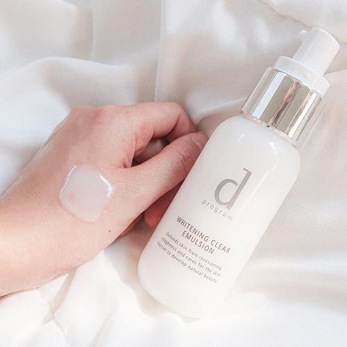 D Program Whitening Clear Lotion