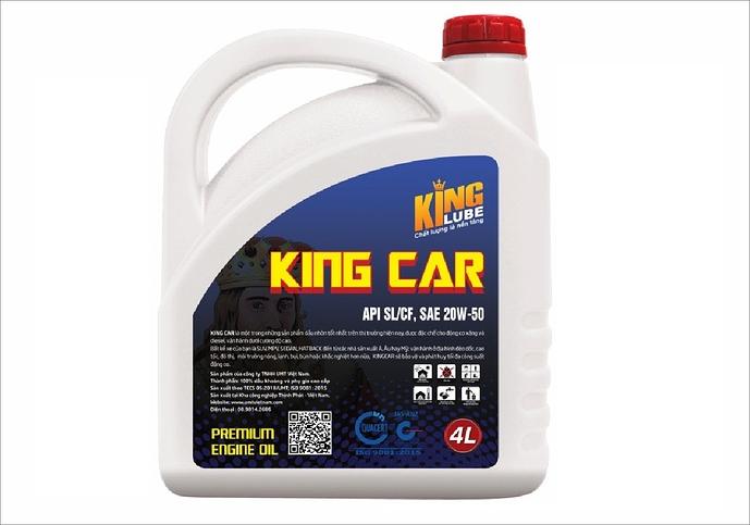Dầu Nhớt Động Cơ Ô Tô King Car Kinglube