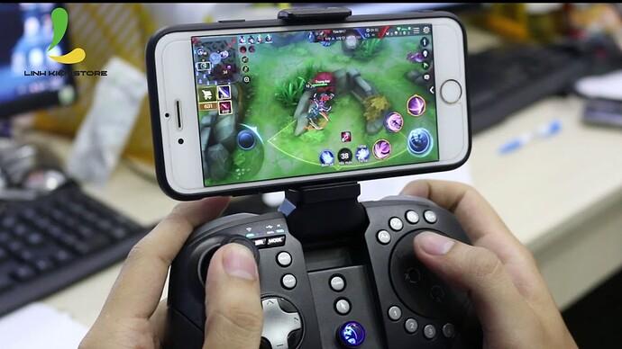 Tay cầm chơi game cho điện thoại