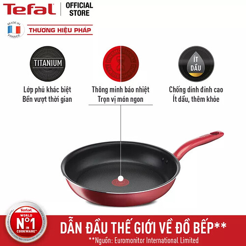 Chảo chiên chống dính đáy từ Tefal So Chef G1350295 21cm