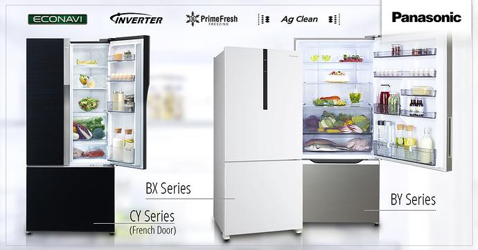 Công nghệ làm lạnh có trong tủ lạnh Panasonic
