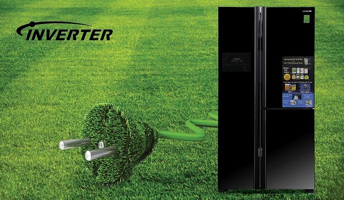 Tủ lạnh Hitachi Inverter