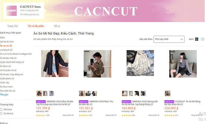 CACNCUT Store