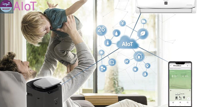 Công-nghệ-AIoT-trên-điều-hòa-Sharp