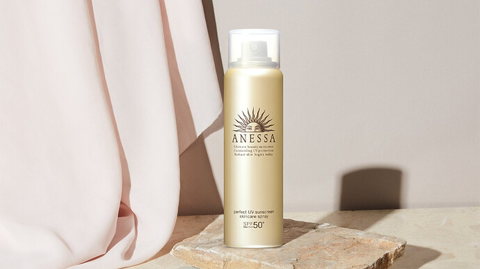 Kem chống nắng dạng xịt Anessa Perfect UV Sunscreen Skincare Spray 60g