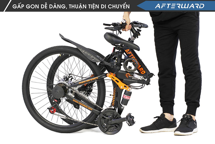 Xe đạp thể thao gấp gọn Afterward