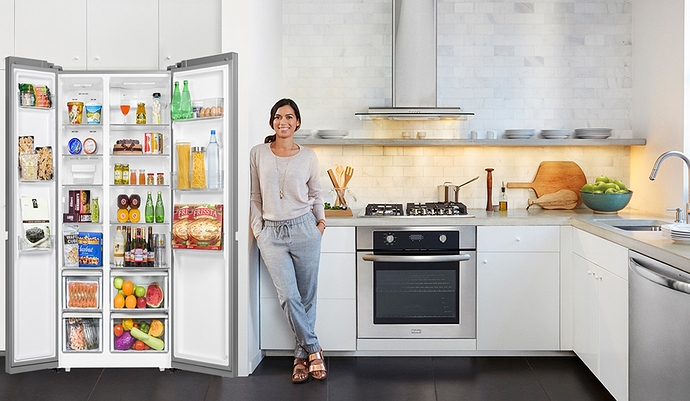 Tủ lạnh AQUA side by sie