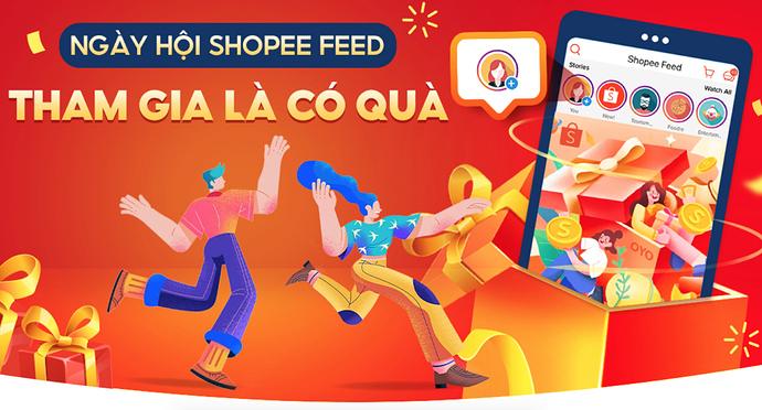 Ngày hội Shopee Feed