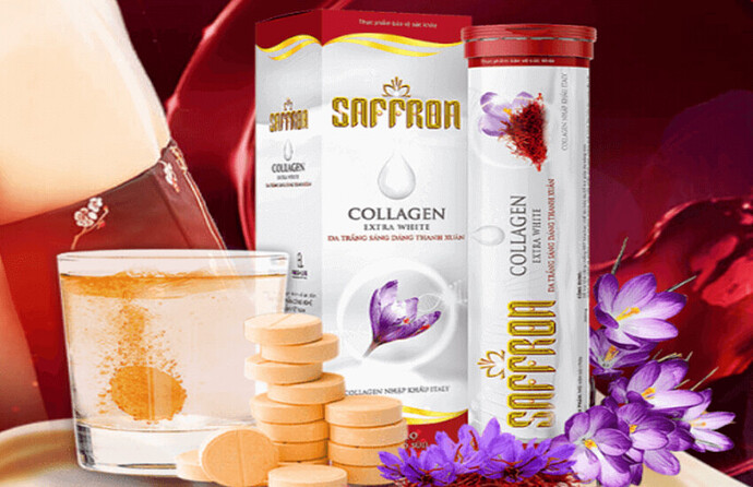 Saffron Collagen Fresh Life