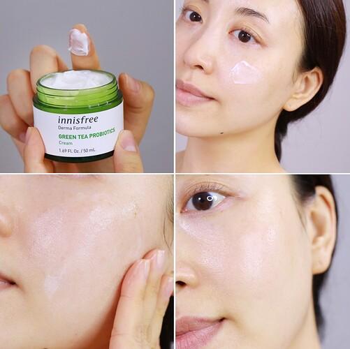 Innisfree Derma Green Tea Probiotics Cream