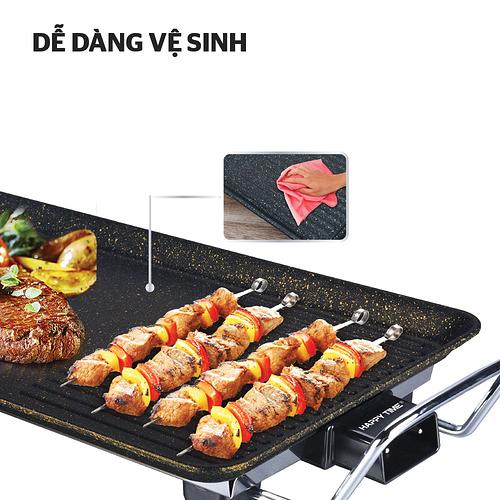 Vệ sinh bếp nướng điện