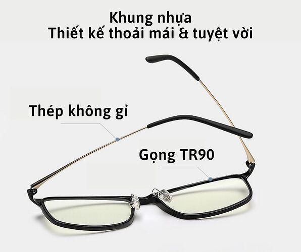 khung kính mắt xiaomi