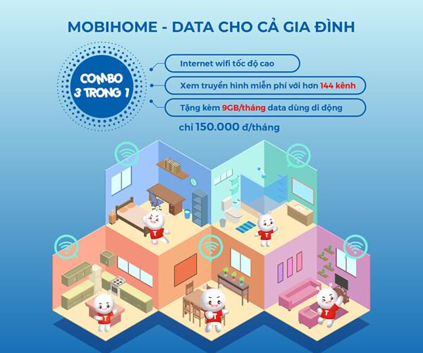 MobiHome - Trải nghiệm trọn bộ giải trí