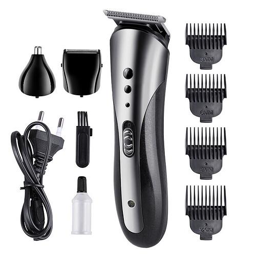 Tông đơ cắt tóc đa năng 3 trong 1 Kemei KM-1407