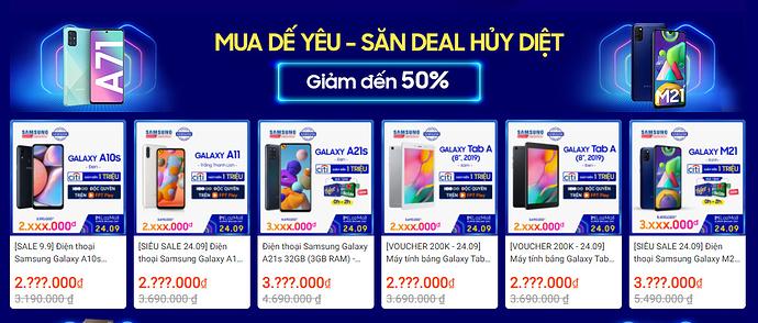 Samsung siêu lễ hội