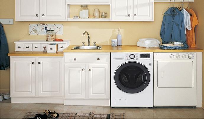 Máy giặt sấy quần áo LG