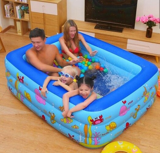 Bể bơi phao Summer Infant