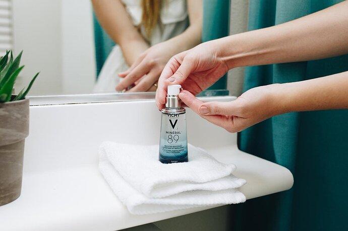 Hướng dẫn sử dụng Serum Vichy Mineral 89